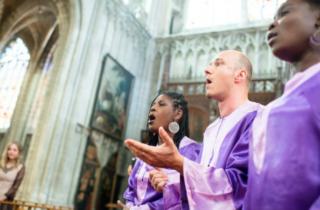 ceremonie bapteme gospel