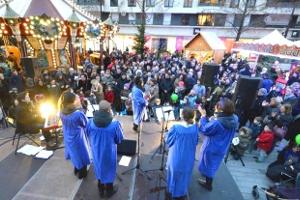 concert de gospel marché de noël strasbourg