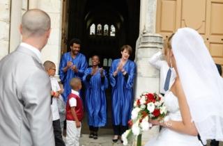 mariage en gospel à Champeaux