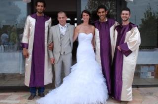 Mariage gospel à st trivier sur moignans